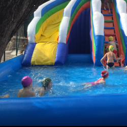 piscina gonfiabile 10x10x0.65