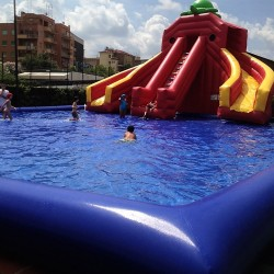 piscina gonfiabile 8x8x0.65
